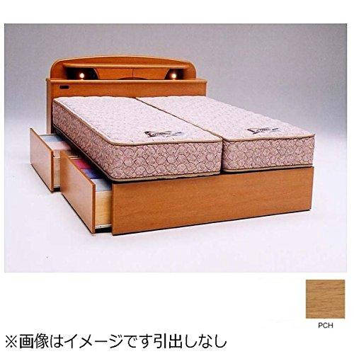 フランスベッド 【フレーム】収納なしフレーム キャビネットタイプ ラルフ04C(ダブルサイズ/ペールチェリー)