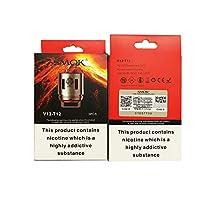 [Genuine] SMOK TFV12 Coils V12-Q4 V12-T12 交換用コイル/電子タバコ Vape アトマイザー(3個/箱) (TFV12 T12)