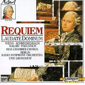 Mozart: Requiem/Laudate Dominum