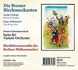 バローグ:ブレーメンの金管音楽隊、ショスタコーヴィチ:組曲より ベルリン・フィルハーモニー金管アンサンブル