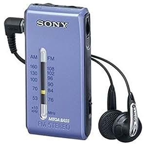 SONY FMステレオ/AMポケッタブルラジオ ブルー SRF-S86/L