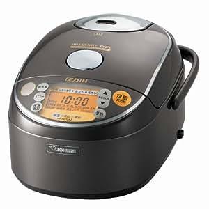 【Amazon.co.jp限定】 象印 圧力IH炊飯器極め5.5合炊き メタリックブラウン NP-ND10AZ-TC