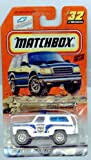 Matchbox 1999-32 Law & Order Chevy Blazer 1:64 Scale