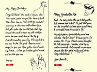 Quiplip Handwritten Yours Truly Birthday Cards 6-Pack (YT08196PCK) [並行輸入品]