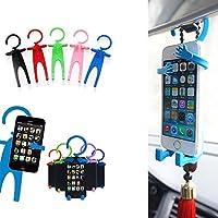 unakim --耐久性Funny Man車携帯電話ホルダー電話スタンドシリコン柔軟な車ツール