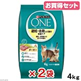 ピュリナ ワン キャット 避妊・去勢した猫の体重ケア ターキー 4kg ×2袋セット