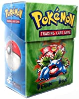 Pokemon Card Supplies Deck Box with Sleeves Venosaur Green