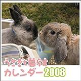 壁掛けうさぎと暮らすカレンダー 2008 ([カレンダー]) 画像