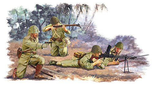 1/35 WW.II 日本帝国陸軍 歩兵 ペリリュー 1944 (4体セット)