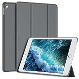"""iPad Pro 9.7 ケース, JEDirect 超薄型 軽量型 傷つけ防止 スマートカバー Apple iPad Pro 9.7"""" インチ適用 2016年モデル 三つ折りタイプ マグネット内蔵 スタンド機能 オートスリープ (ダークグレー) - 3373"""