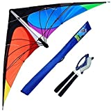 Best デルタ凧 - HENGDA kite-delta Stunt Kiteの子供と大人、70-inchアウトドアスポーツ、ビーチ、楽しいスポーツカイト Review