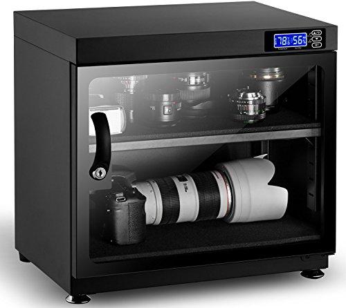IBIRDIE カメラ防湿庫 50L レンズ防湿庫 自動湿度維持  カメラデジタル収納ケース ドライボックス