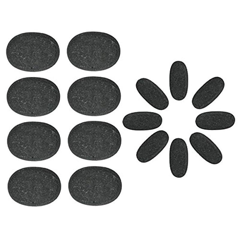 一般化する親貴重な玄武岩 ホットストーン 16個セット [ ホットストーン ホット ストーン ストーンヒーター ホットストーンセラピー セラピー 玄武岩 天然石 スパ ロミロミ ハワイ ハワイアン マッサージ ]