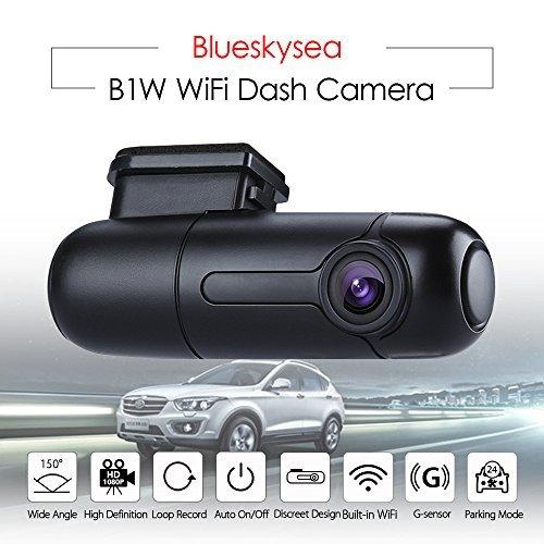 Blueskysea WiFiダッシュカメラHD 1080p...