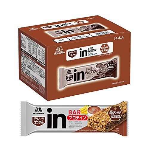 【Amazon.co.jp 限定】inバー プロテイン グラノーラ ココア (14本入×1箱) ココアとバナナの風味を楽しむグラノーラタイプ 高タンパク10g 低脂肪