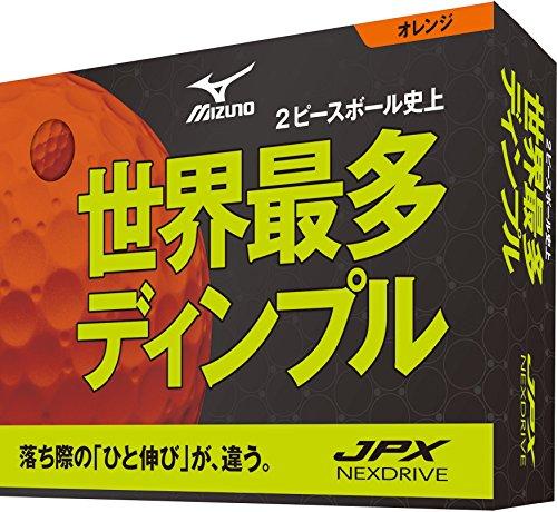 MIZUNO(ミズノ) ゴルフボール JPX ネクスドライブ 1ダース 5NJBM72510