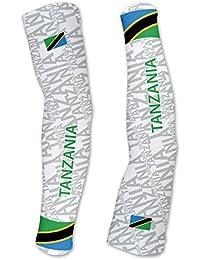 タンザニアScudoPro Compression Arm Sleeves UV保護ユニセックス – Walking – サイクリング – Running – ゴルフ – 野球 – バスケットボール