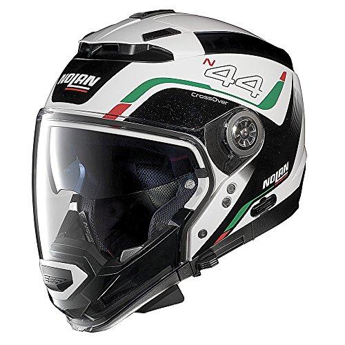 NOLAN(ノーラン) ヘルメット システム N44EVO VIEWPOINT メタルホワイト 53 M 97580