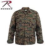 ロスコ BDU シャツ ジャケット/ROTHCO B.D.U. SHIRTS (XXXL, ウッドランドデジカモ(WDC))