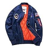メンズ フライトジャケット TOK(トック)MA-1 エムエーワンジャケット ミリタリフライトジャケット 中綿 メンズ ジャケット ネイビー 4色 M-6XL