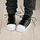 コンバース 靴 (ドーリア)Dollia 靴 ブライス ドール用 コンバース風 スニーカー ブラック シューズ ドール アウトフィット ネオブライス