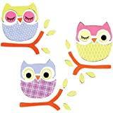 [デザインアイデア]Design Ideas GelGems Large Bag, Sleepy Owls 2502459 [並行輸入品]