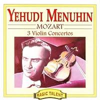 Mozart;Violin Concs.3,4 & 7