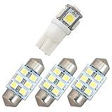 GPE スバルXVハイブリッド 純正電球交換型 極LEDルームランプ 4点