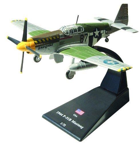 [해외]P-51B 무스탕 다이 캐스트 1:72 모델 - P-51B Mustang (Amercom SL-22)/P-51B Mustang die-cast 1: 72 model - P-51B Mustang (Amercom SL-22)