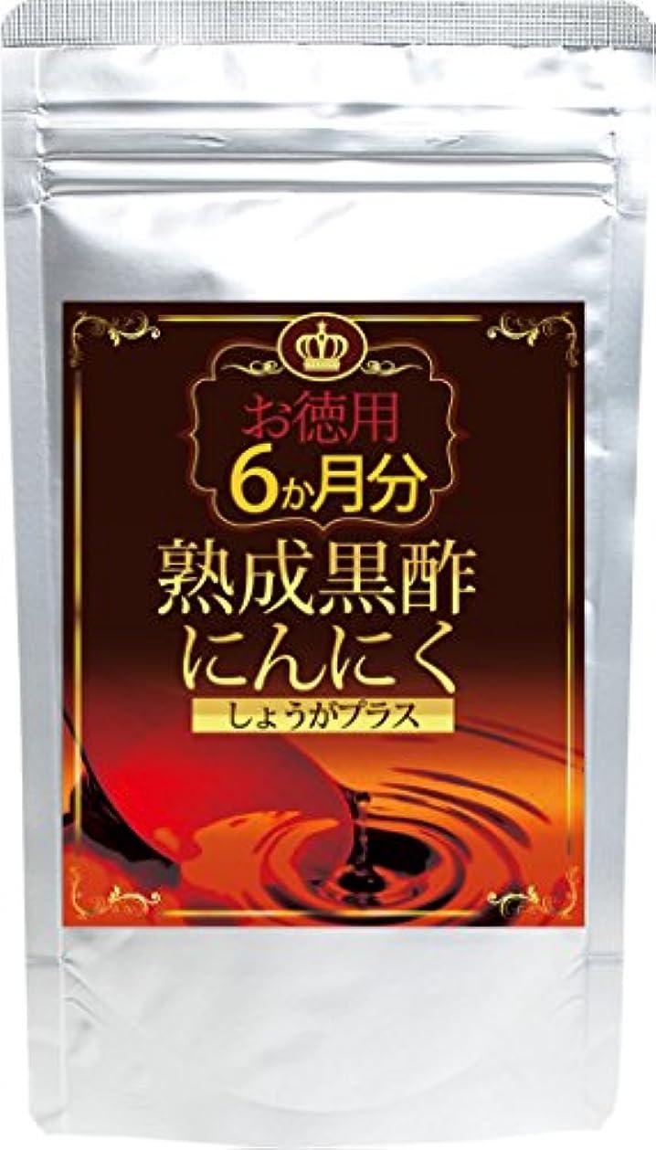 仮称協定懸念熟成黒酢にんにく しょうがプラス 360粒 約6か月分