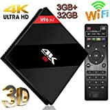 TV Box 【3GB +32GB 】Super-VIP H96 Pro Plus スマート4K TV ボックス Android 7.1 テレビボックス Amlogic S912 Octa Cora TVチュー..