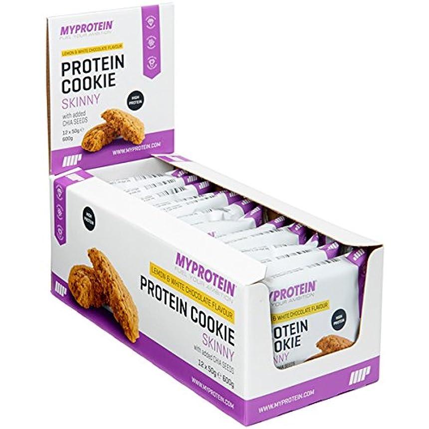 弱い単なるちょうつがいマイプロテイン スキニークッキー?ダイエットクッキー (クランベリー & ホワイトチョコレート, 50gx12)