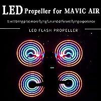 DJI Mavic Airの2ペアSTARTRC充電式5332 LEDプロペラUSB充電