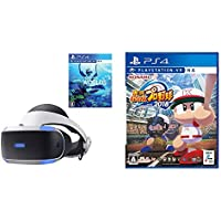 PlayStation VR PlayStation Camera 同梱版 + PlayStation VR WORLDS + 実況パワフルプロ野球2018 セット