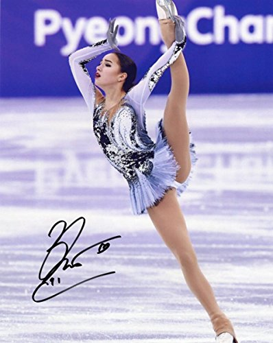 アリーナ・ザギトワ 直筆サイン入り写真 フィギュアスケート 25?X20? COA(証明書)付属