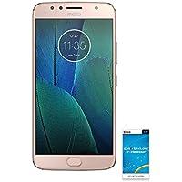 Motorola moto G5s Plus 【OCNモバイルONE SIMカード付】 (データSIM, ブラッシュゴールド)