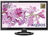AQUOS LC-22K45-B [22インチ ブラック系]