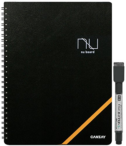 欧文印刷 ホワイトボード Amazon限定 CANSAY nu board ヌーボード B5判 NAB503BK08