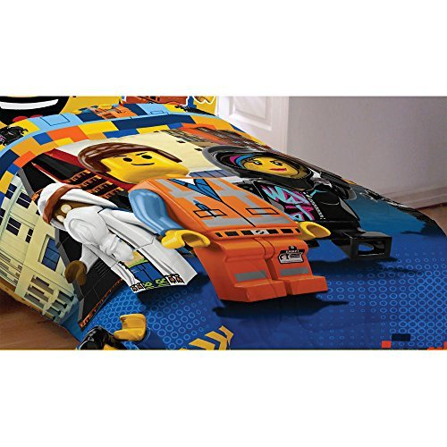 LEGO The Movie Reversible Bed Comforter (Twin-Full) [並行輸入品]