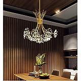 Chandelier/Crystal Light Ceiling Light/Restaurant Bar Hotel Living Room Bedroom Chandelier/Warm Light G4 Light Source * 13 / Size: 77cm * 62cm You Deserve to Have