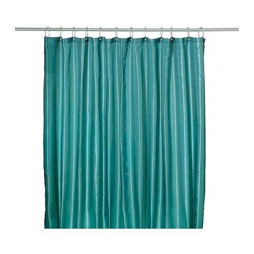 RoomClip商品情報 - IKEA(イケア) SALTGRUND シャワーカーテン グリーンブルー