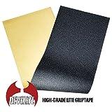 DEVILITE スケートボード スケボー デッキ テープ 11x38インチ ブラック グリップテープ SKATEBOARD GRIPTAPE