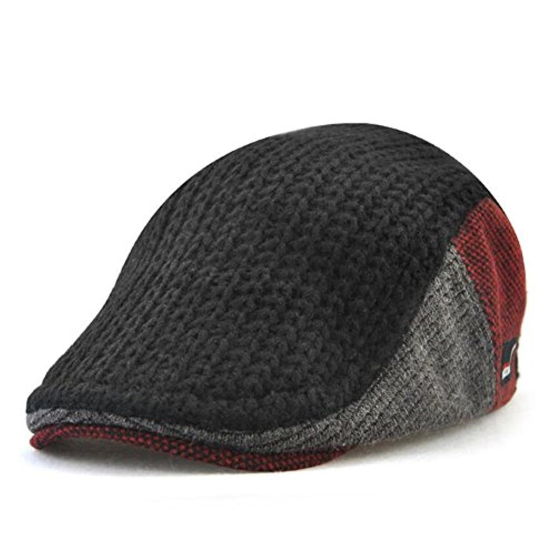 Impression ベレー帽 キャップ アウトドア 通勤 無地 ハンチング フラット コットンハット 通気性 人気 調節可能 日焼け防止 紫外線対策 春 秋