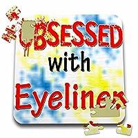 ブロンドDesigns Obsessed with–Obsessed with Eyeliner–10x 10インチパズル( P。_ 241614_ 2)