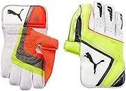 Puma, Cricket, Evospeed 1 Wicket Keeper Gloves, Boys, Lava Blast/Safety Yellow