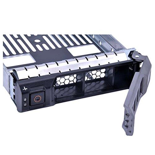 3.5 HDDトレイキャディー,SODIAL(R) 3.5 SAS SATAハードドライブトレイキャディーディスコリジッドデルあたりのサーバーR310 R510 R610 R710 T410 T610 T710 F238F 0G302D G302D 0F238F 0X968D X968D