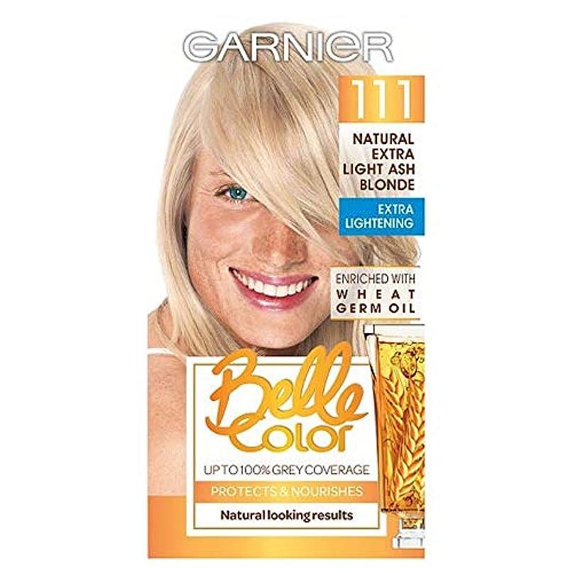 連鎖中国エンターテインメント[Belle Color ] ガーン/ベル/Clr 111余分な光灰ブロンドパーマネントヘアダイ - Garn/Bel/Clr 111 Extra Light Ash Blonde Permanent Hair Dye...