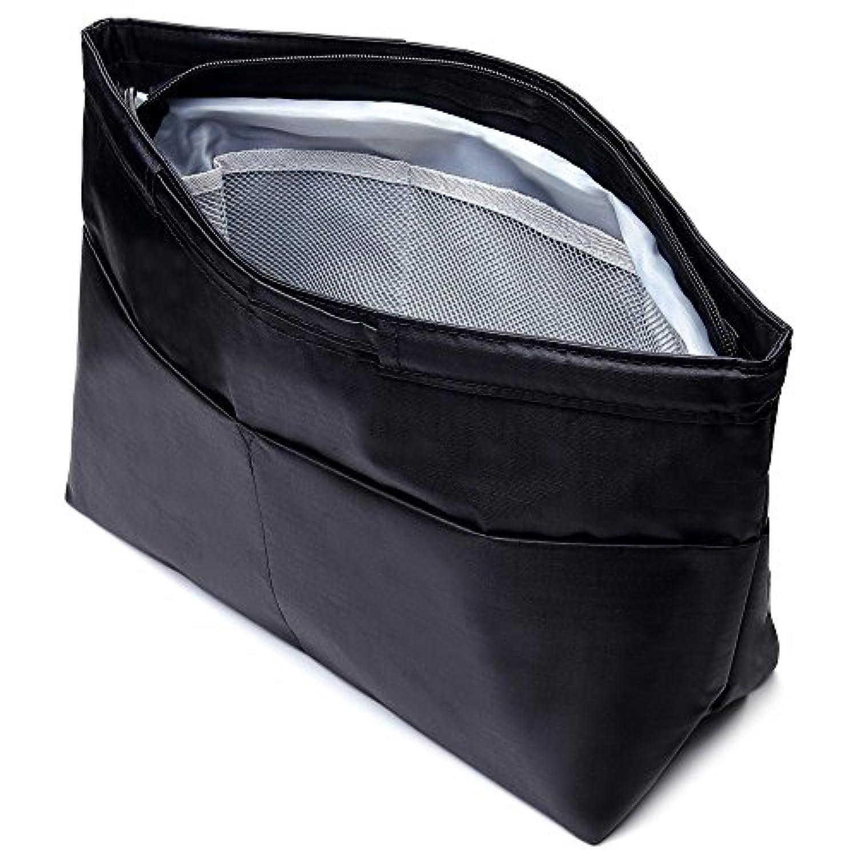 【2018 改良版】Ahorita(アオリッタ)バッグインバッグ インナーバッグ 軽量 で 大容量 さまざまな大きさの小物に対応 10ポケット 全6タイプ