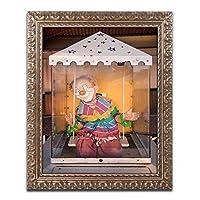 商標Fineアート「Clown」フレーム入りオリジナルアートワーク 16x20 JS0034-G1620F
