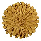 JWH 3D 太陽花 クッション 装飾枕 ギフト 結婚祝い 引越し祝い インテリア ホーム 部屋 ソファ 車 飾り 35CM